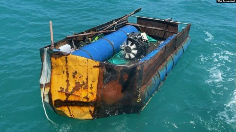 14 migrantes cubanos rescatados en altamar son devueltos a la isla