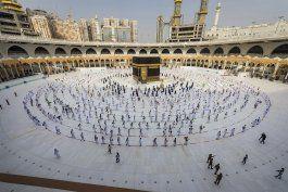 saudi arabia limita el haj a 60.000 residentes en el reino