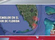 se desconoce la causa de temblor de tierra en el condado miami-dade