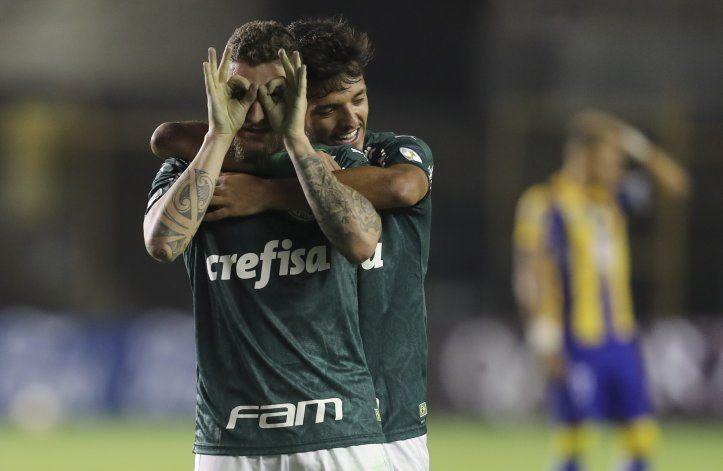 Libertadores: Palmeiras golea, en día de duelo por Maradona