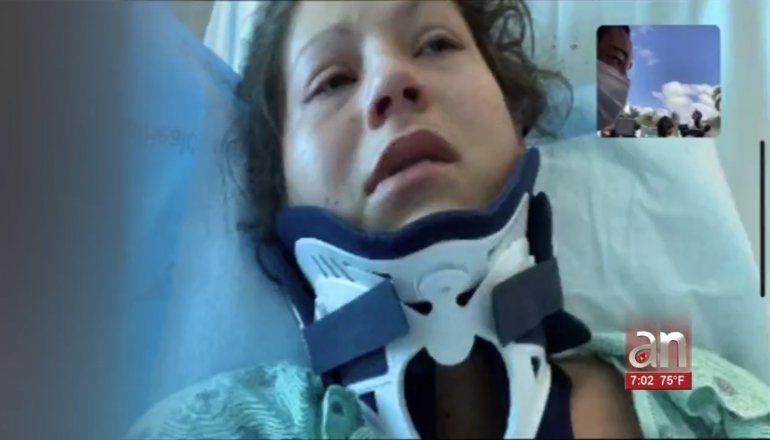 Hombre hiere a esposa y mata a su novio. Al escapar, muere en accidente en la I-95