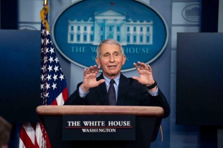 Fauci alerta de que EEUU está yendo en la dirección equivocada en la lucha contra la tercera ola