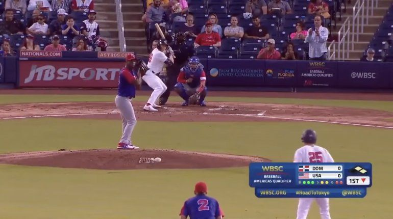 Estados Unidos venció a República Dominicana para avanzar a segunda ronda de preolímpico de béisbol