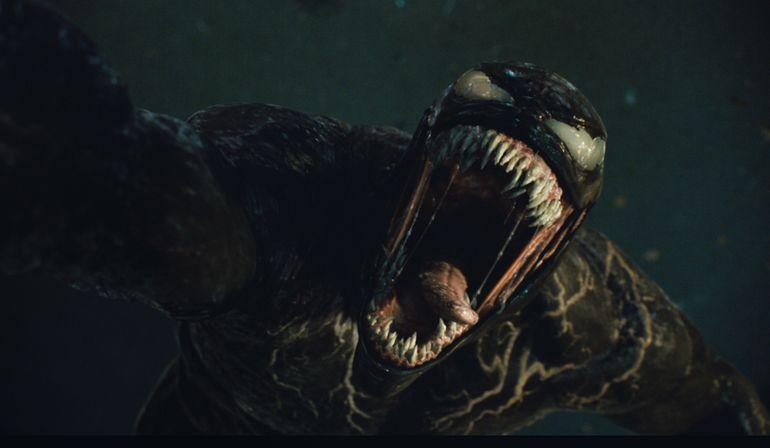 Tom Hardy y Andy Serkis clavan sus dientes en nueva Venom