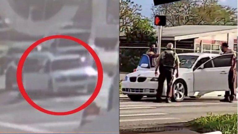 Dos adolescentes fueron baleados mientras manejaban un BMW en el SW de Miami