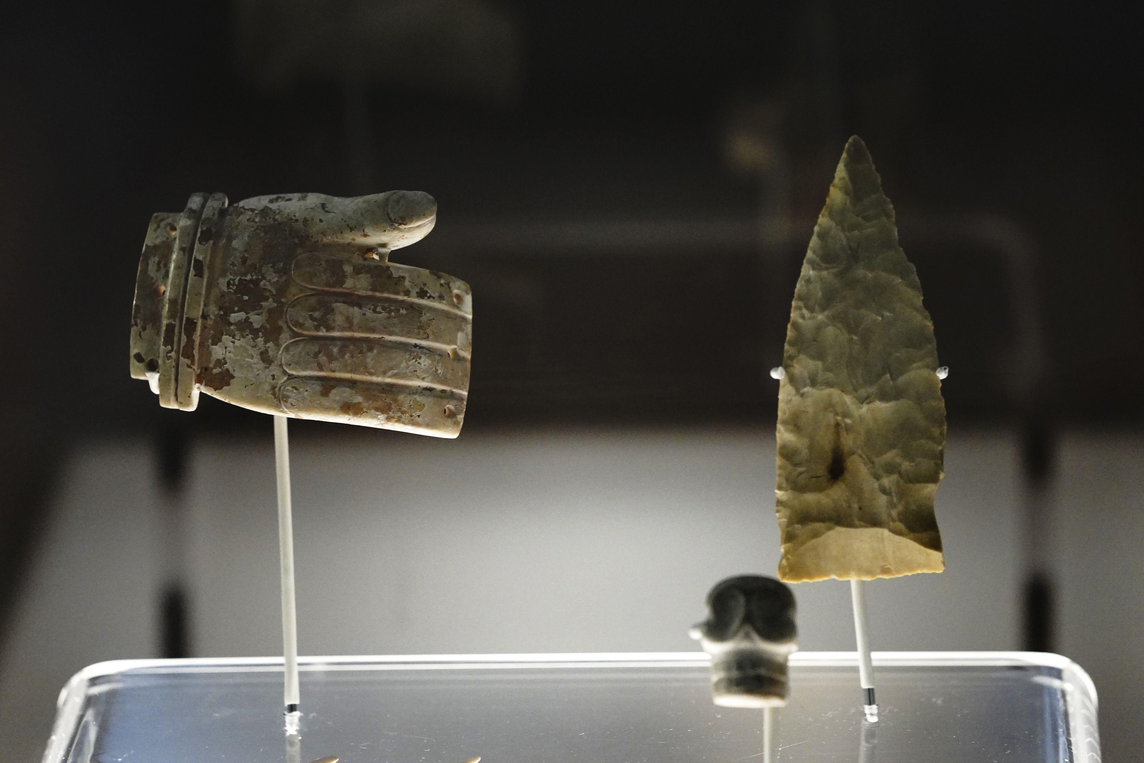 mexico luce piezas prehispanicas recuperadas del extranjero