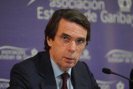 aznar pide a los opositores unidad para presentar a la ue y eeuu una propuesta y endurecer sanciones