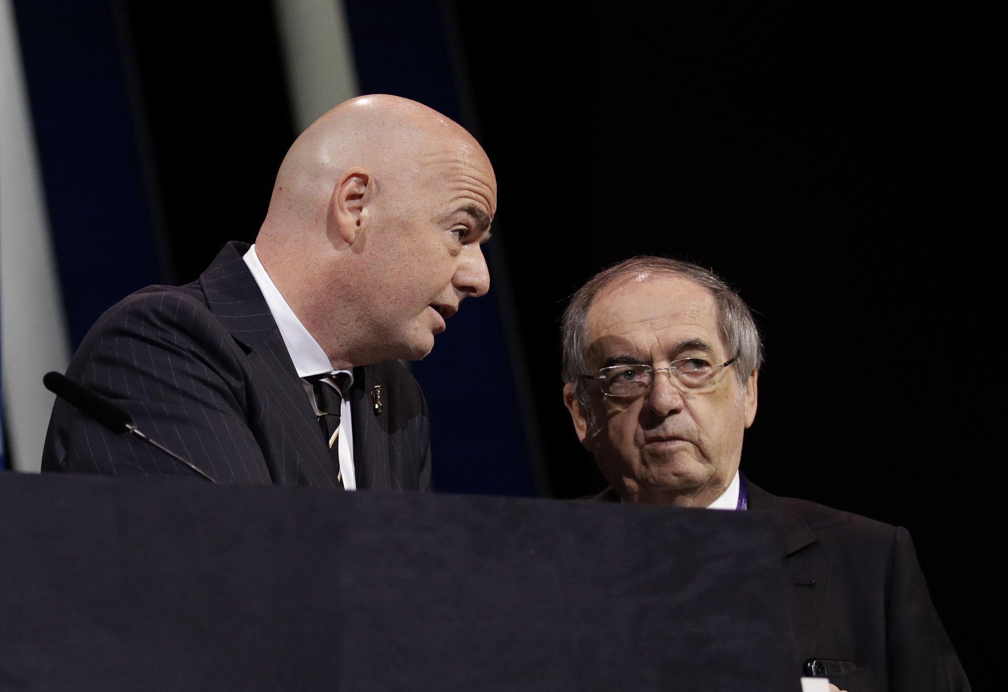 liga francesa se opone a planes de un mundial cada 2 anos