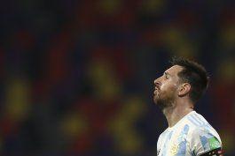 messi: mi sueno es ganar un titulo con argentina