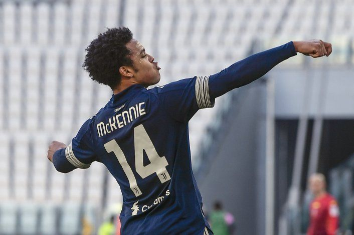McKennie y Arthur dan victoria a Juventus ante Bologna