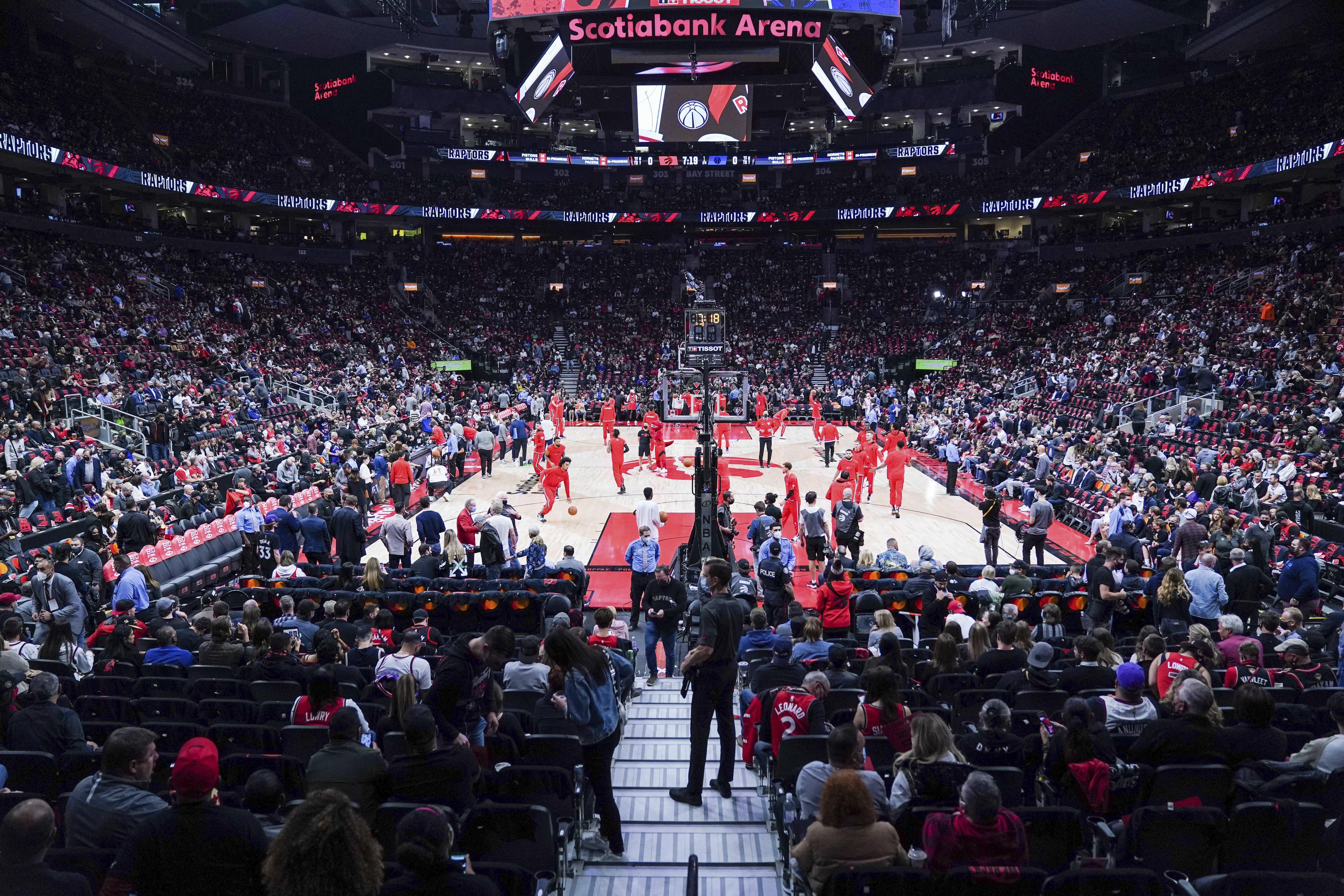 Wizards estropean retorno de Raptors a Toronto