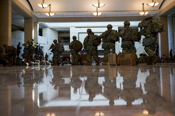 Asunción de Joe Biden: Washington se prepara para lo peor