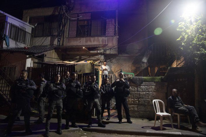 Chocan palestinos e israelíes en Jerusalén Este