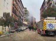 fuerte explosion sacude el centro de madrid