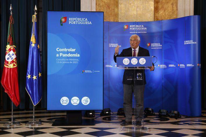 Portugal implementa confinamiento por repunte de COVID-19