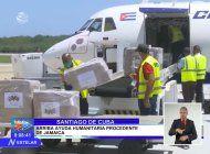 siguen llegando donativos a cuba tras las protestas, esta vez provenientes de jamaica