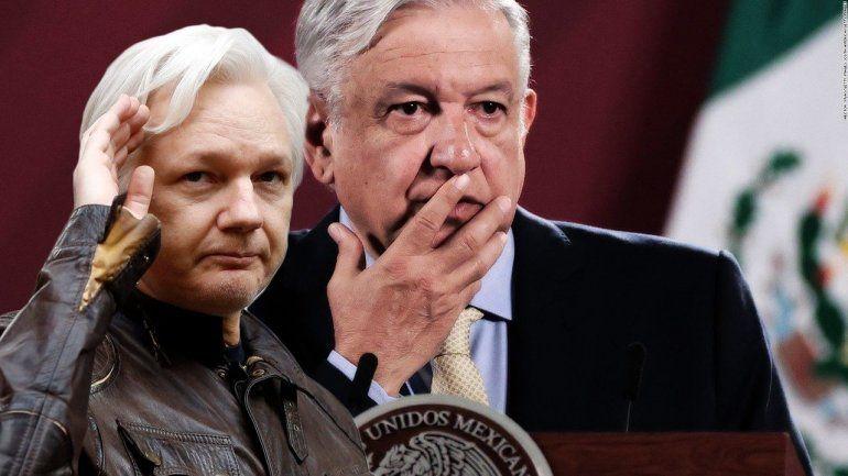 López Obrador ofrece asilo político a Assange en México