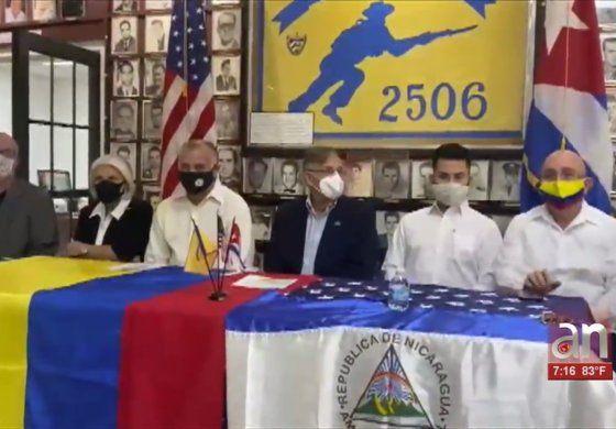 Exiliados en Miami piden la invocación del TIAR por crisis en Colombia