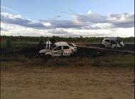 brutal accidente automovilistico en las tunas causa la muerte de seis personas