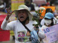 madres mexicanas marchan por hijos desaparecidos