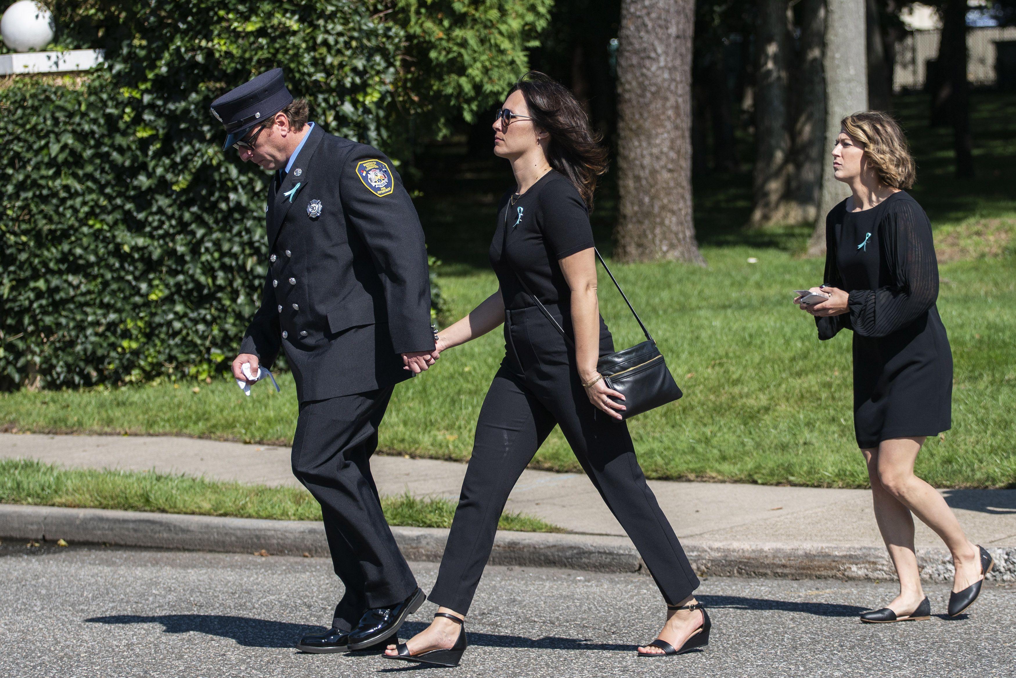 EEUU: Dolientes llegan al funeral de Gabby Petito
