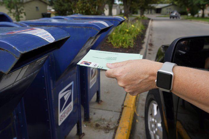 El voto anticipado en EEUU supera al de 2016 con once días todavía por delante