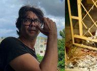 regimen coloca aves decapitadas en la puerta de la casa de yunior garcia