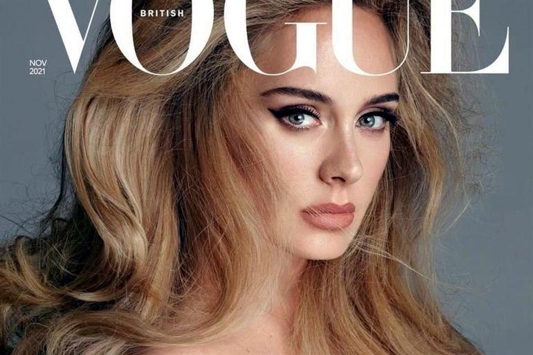 Adele abre su corazón a la revista Vogue