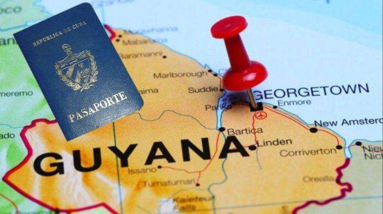 Boletos por $7,000 y ahora Visas: se complican los viajes de cubanos a Guyana