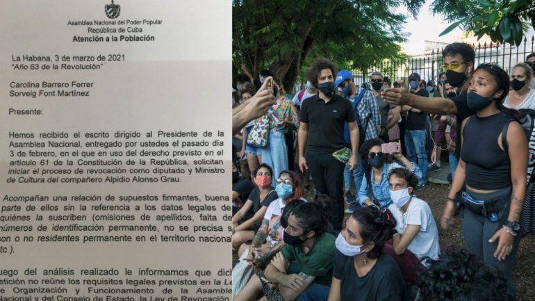 La Asamblea Nacional rechaza la petición de revocación de Alpidio Alonso presentada por el 27N