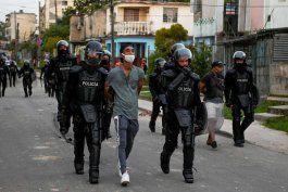 human rigths watch denuncia la brutal represion contra presos del 11j en cuba