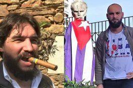 cubano exiliado en espana denuncia a testaferro del regimen