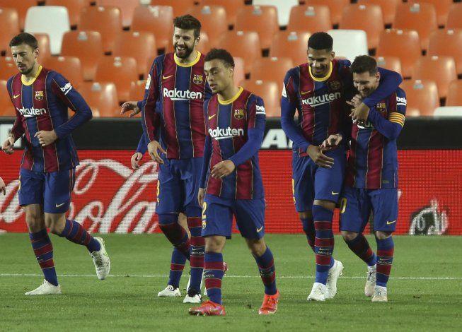 Liga española investigará asado en la casa de Messi