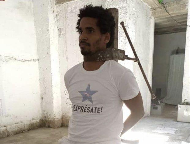 Liberado el artista cubano Luis Manuel Otero Alcántara