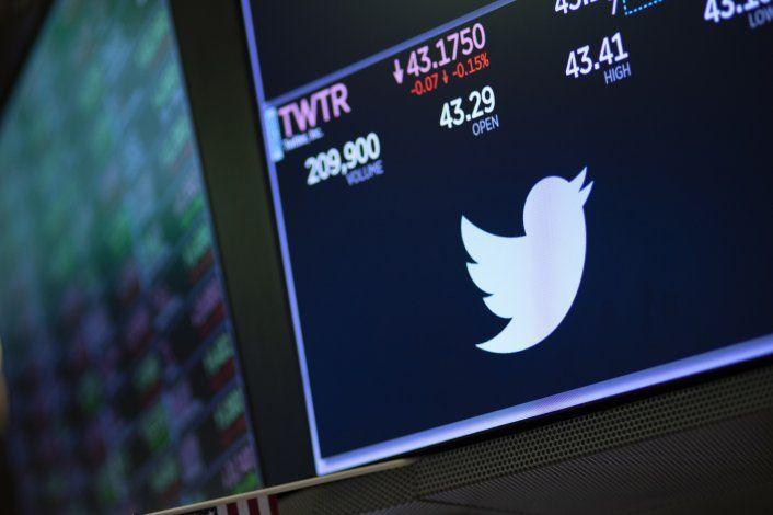 Se desploman acciones de Twitter