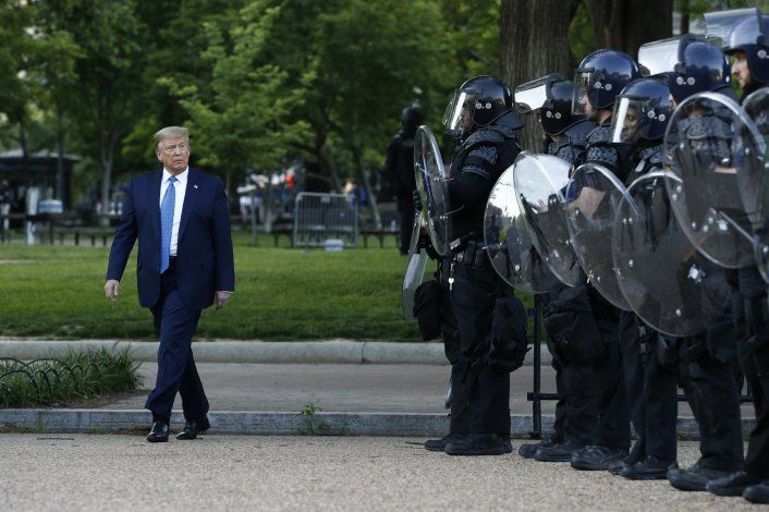 Trump, ¿matón o héroe? Depende del canal de TV