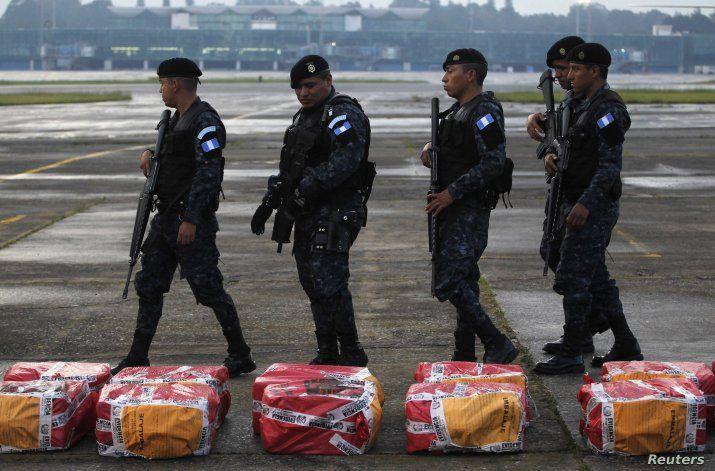 EEUU entregó 31 millones de dólares a Guatemala para la lucha contra el narcotráfico