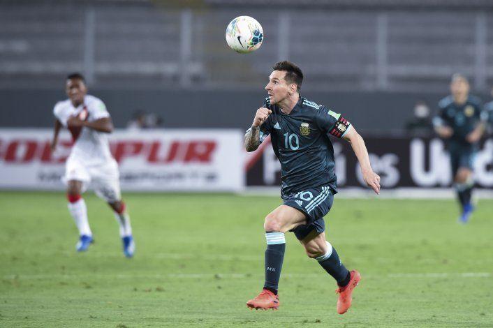 Argentina se luce y gana en Perú después de 16 años