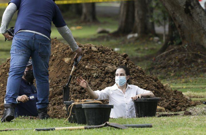 Nueva exhumación de víctima de la invasión de EEUU a Panamá