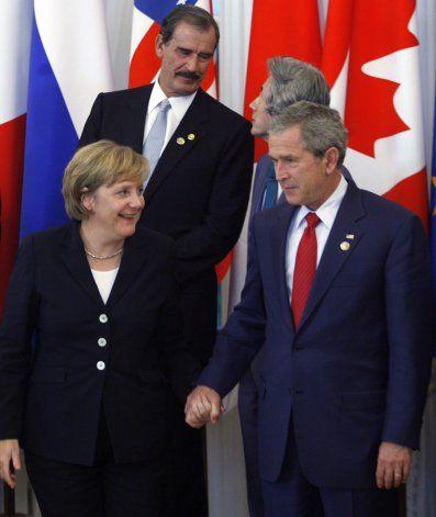 Merkel visita Casa Blanca quizás por última vez