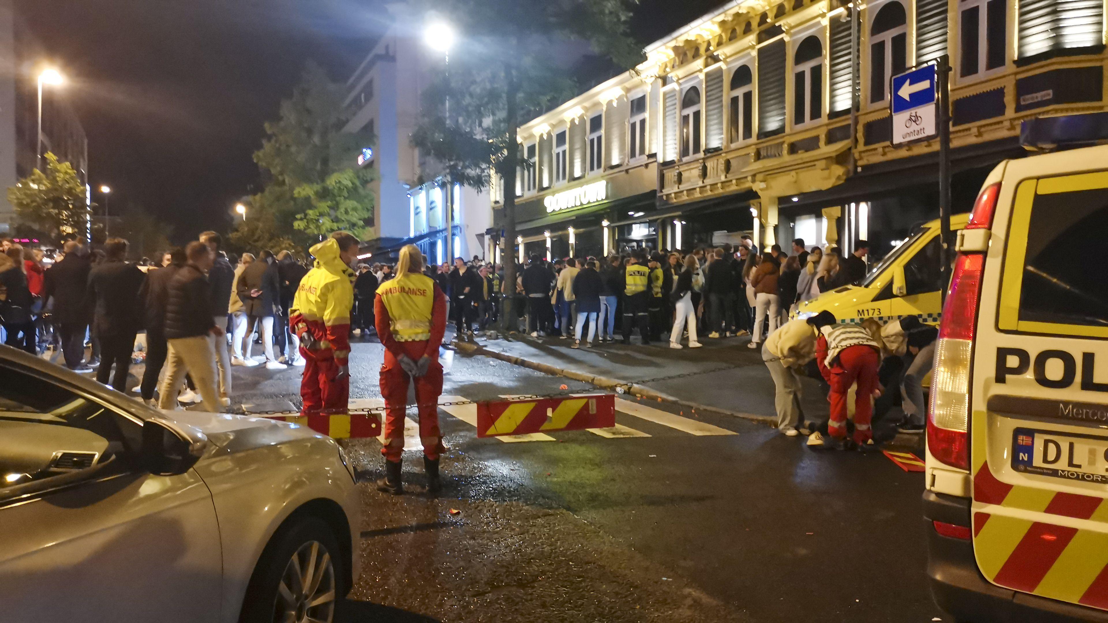 disturbios en noruega tras reapertura de negocios