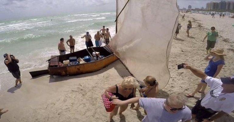 Guardia Costera de EEUU asegura que los balseros cubanos pueden solicitar miedo creíble para no ser devueltos a Cuba