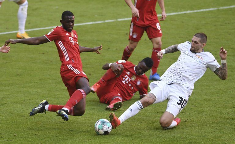 Union empata 1-1 de visitante con Bayern en la Bundesliga