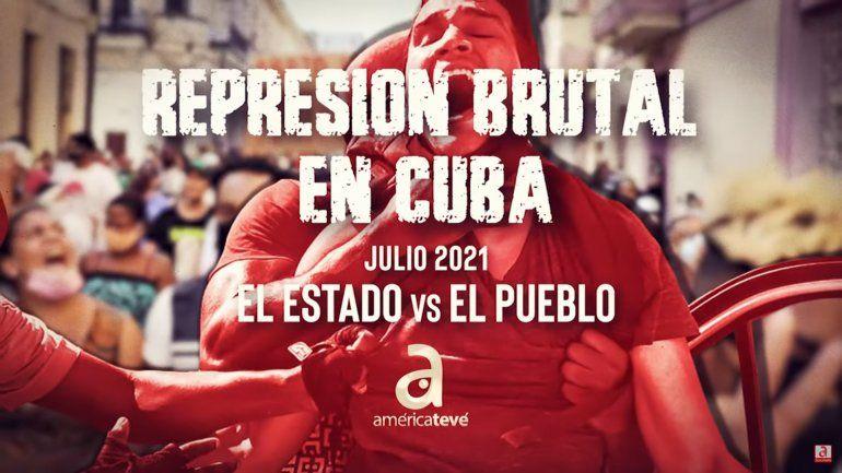 Compilación de todos los videos de la brutal represión que sufrieron los manifestantes cubanos
