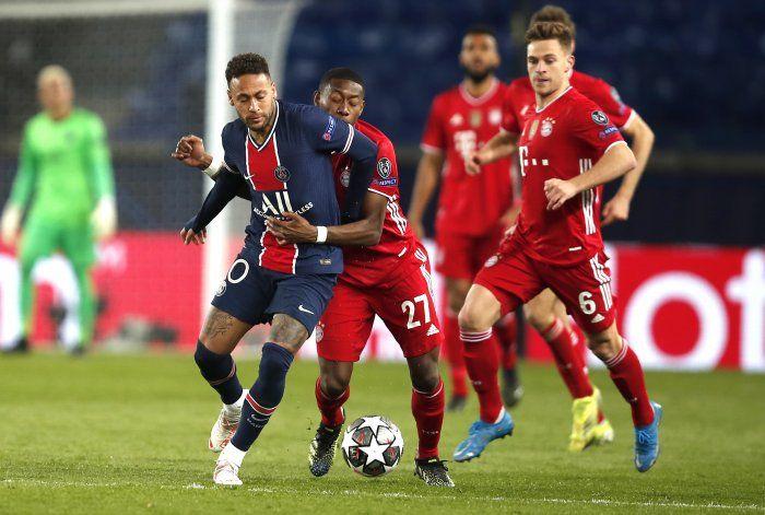 El PSG cae 1-0 ante el Bayern, pero se clasifica a semis