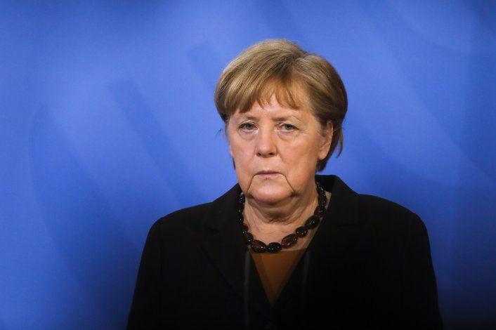 Merkel: Entiendo frustración de jóvenes por cambio climático