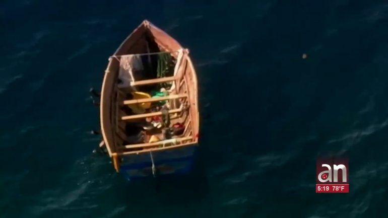 Llegan 20 balseros cubanos a los cayos de Florida