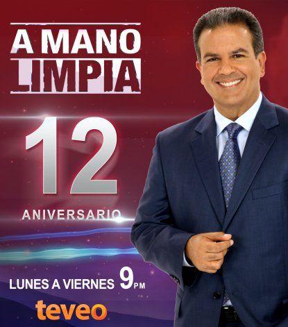 A Mano Limpia  celebra 12 años al aire con una edición especial