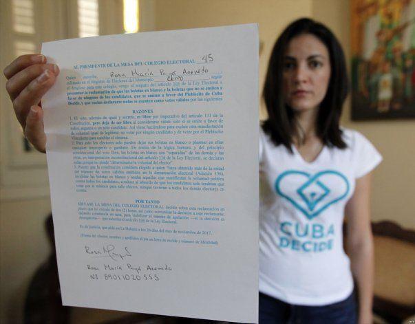 Cuba Decide convoca a acción cívica Luz de Alarma