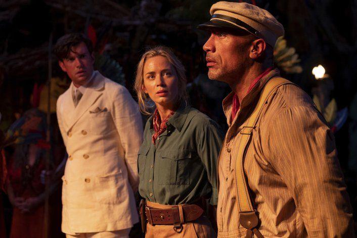 Reseña: Emily Blunt trasciende un atiborrado Jungle Cruise